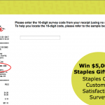StaplesCares Survey