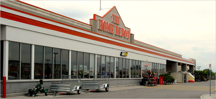 Home depot canada opinion survey for Shop home depot