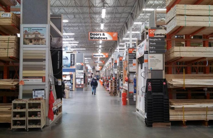 Give your Opinion to Home Depot