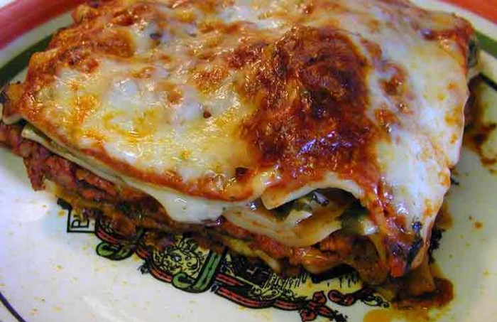 A foolproof recipe for lasagne tonight