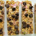 No-Bake Choc Chip Bars