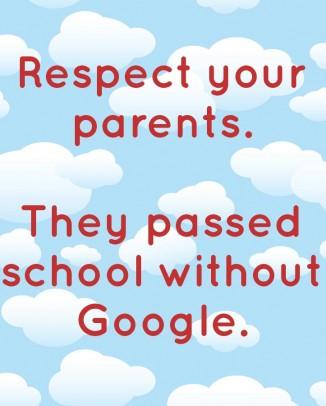 Respect Your Parents