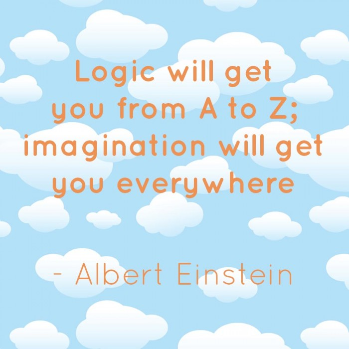 store surveys imagination will get you everywhere inspirational quotes 4942