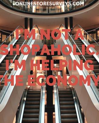 not a shopaholic