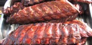 Tell City BBQ mmmm ribs!
