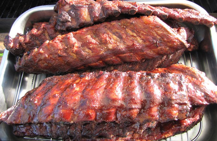 Tell City BBQ mmmm ribs!